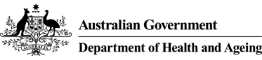 Australian Government - Department of Health and Ageing