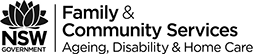NSW Government Family & Community Services - Ageing, Disability & Home Care