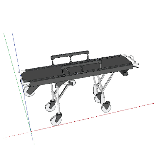 Preview render of block 'Ambulance Trolley'