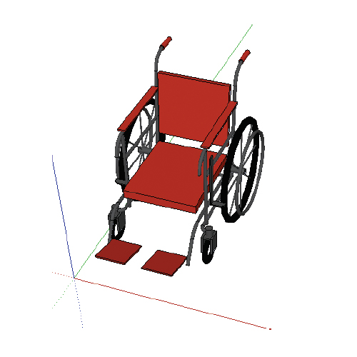 A90 Wheelchair (Manually Operated)