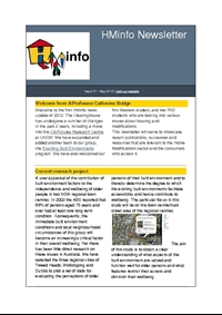 HMinfo Quarterly Newsletter - Edition 27. May 2012