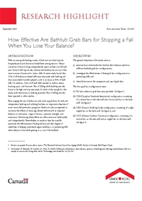 Thumbnail of 'How Effective Are Bathtub Grab Bars for Stopping a Fall When You Lose Your Balance?' document