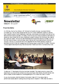 HMinfo Quarterly Newsletter - Edition 44. July 2017