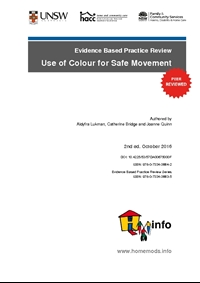 Evidence Based Practice Review: Use of Colour for Safe Movement 2nd ed.