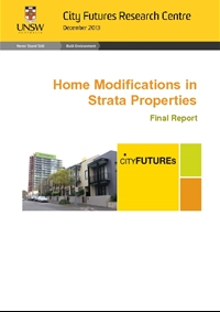 Thumbnail of 'Home Modifications in Strata Properties: Final Report' document