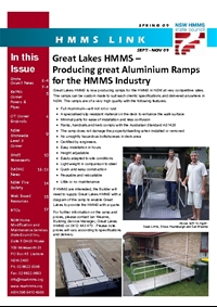 Thumbnail of 'HMMS Newsletter Spring 2009' document