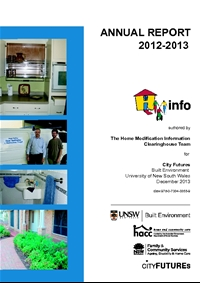 HMinfo Annual Report 2012/2013