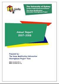 HMinfo Annual Report 2007/2008