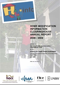 HMinfo Annual Report 2008/2009
