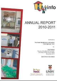 HMinfo Annual Report 2010/2011