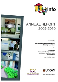 HMinfo Annual Report 2009/2010