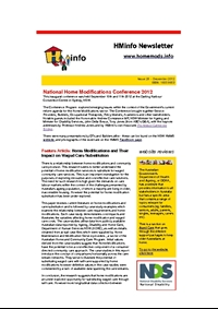 HMinfo Quarterly Newsletter - Edition 28. December 2012