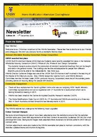 HMinfo Quarterly Newsletter - Edition 34. December 2014