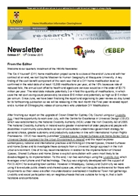HMinfo Quarterly Newsletter - Edition 37. October 2015