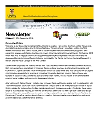 HMinfo Quarterly Newsletter - Edition 42. December 2016