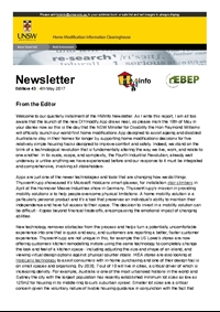 HMinfo Quarterly Newsletter - Edition 43. May 2017