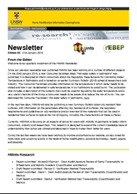 HMinfo Quarterly Newsletter - Edition 46. January 2018